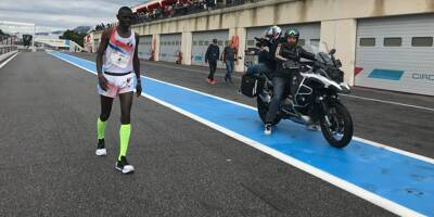 Athlétisme: pas de record du monde des 50 et 100 km sur le circuit du Castellet