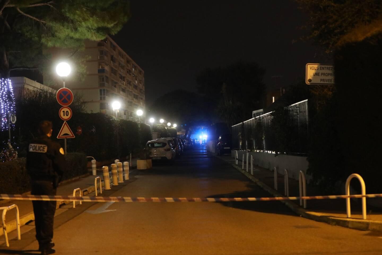 Un périmètre de sécurité a été installé dans la rue Albert-Camus où s'est déroulé l'homicide jeudi soir.
