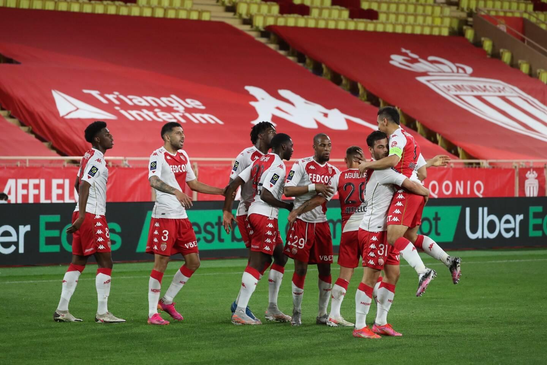 Volland a ouvert le score pour l'AS Monaco.