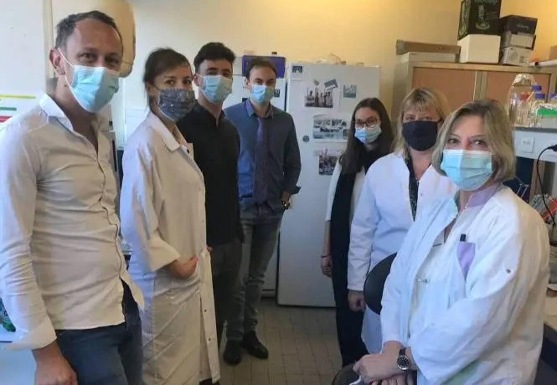 Grâce aux travaux de Guillaume Sandoz (à gauche) et son équipe de l'Institut de Biologie Valrose (iBV), ce sont de nouvelles perspectives thérapeutiques qui s'ouvrent.