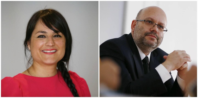 Christelle d'Intorni et Philippe Pradal.
