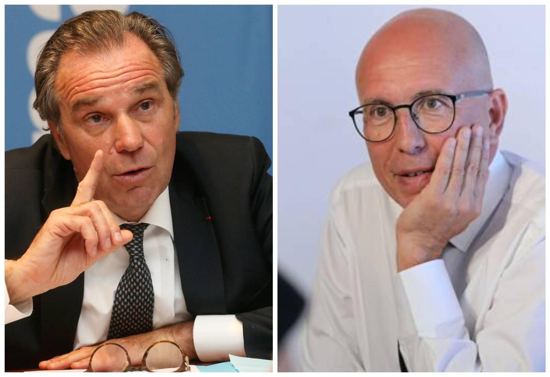 Renaud Muselier et Eric Ciotti