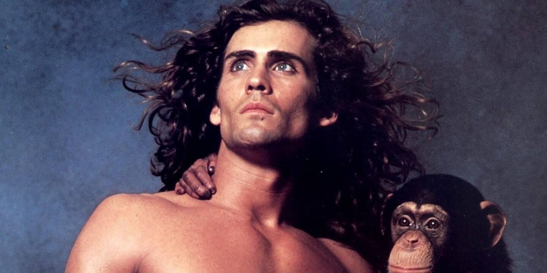 Joe Lara alias Tarzan.