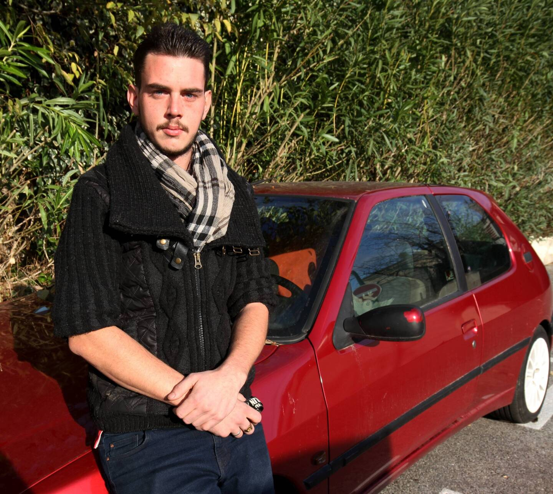 D'John avait retrouvé un toit provisoire après deux semaines passées dans sa voiture en novembre.