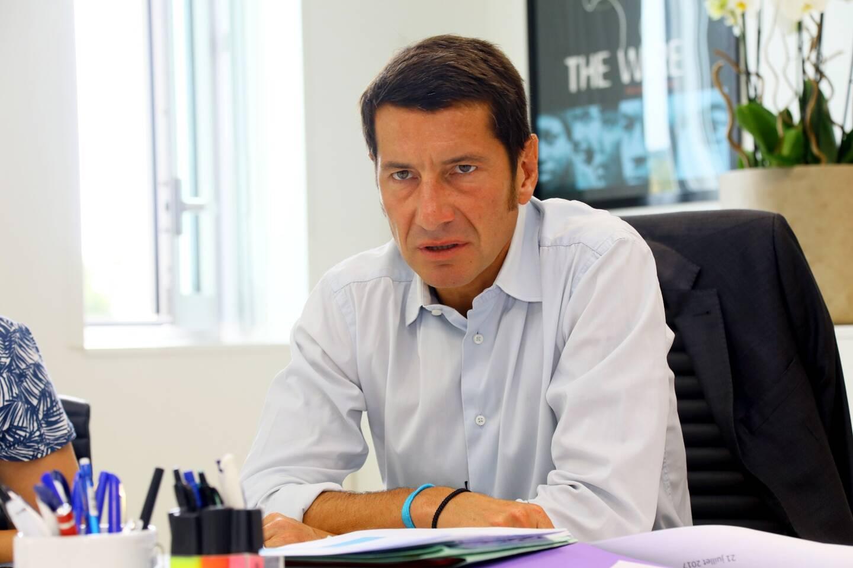 David Lisnard, le maire LR de Cannes.