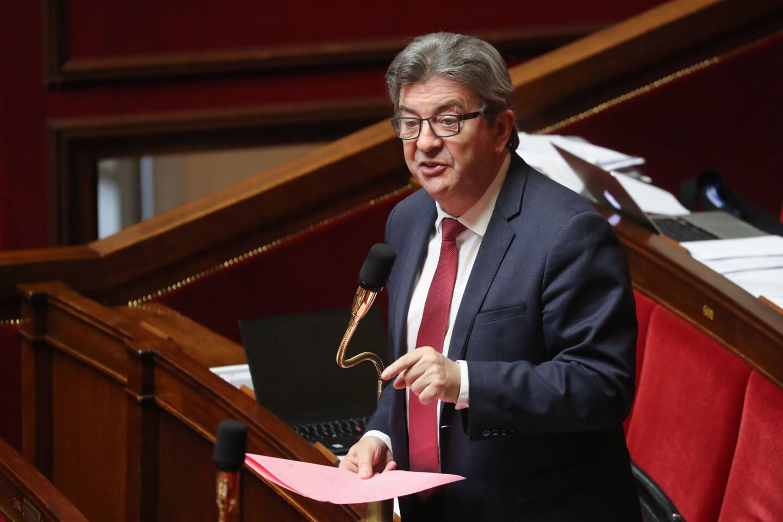 Jean-Luc Mélenchon, candidat de La France Insoumise aux élections présidentielles de 2022.