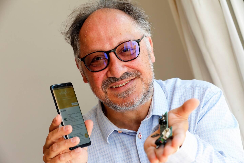 Dominique Palacci, cofondateur de Stimshop, sera au salon VivaTech à Paris pour présenter son innovation Multisonic ou comment se connecter sans fil et par ultrasons à plusieurs systèmes électroniques en même temps.