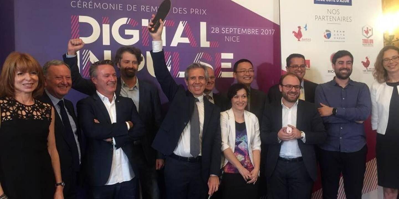 L'édition Digital InPulse 2017 à Nice, à l'époque des remises de trophées en présentiel.