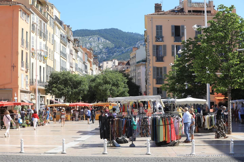 Le marché du cours Lafayette à Toulon (image d'illustration).