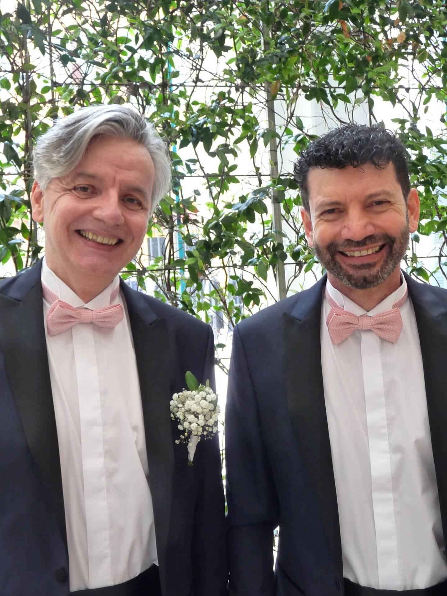 Christophe et Martial.