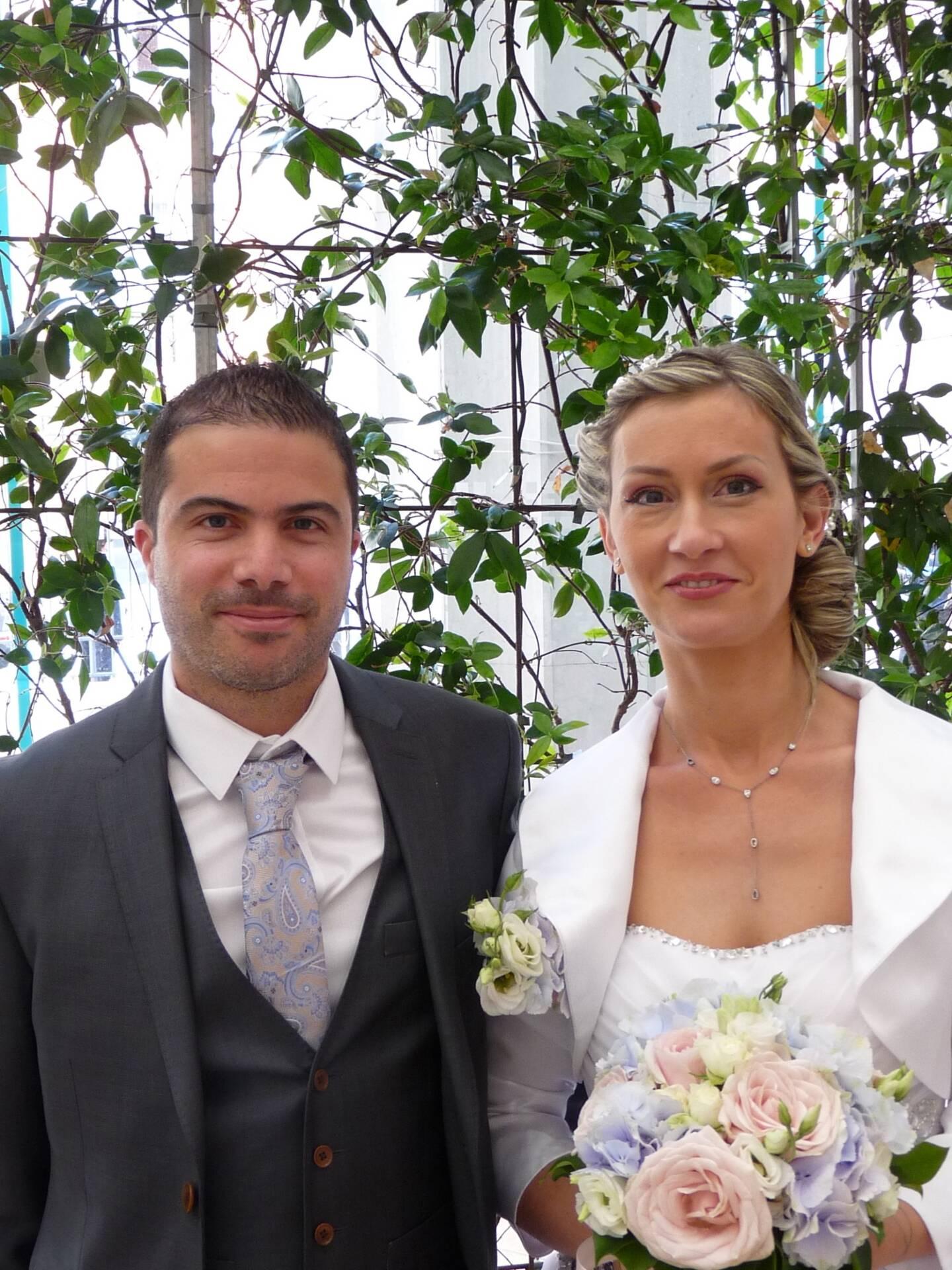 Julien et Sylvia.