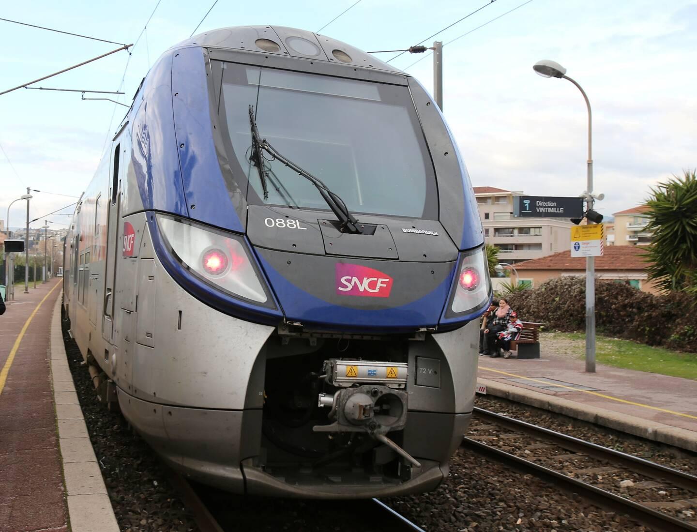 Train SNCF 22/01
