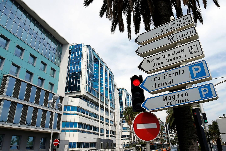 L'hôpital Lenval, à Nice.