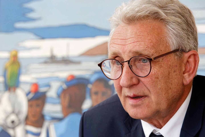 Gil Bernardi, maire du Lavandou.
