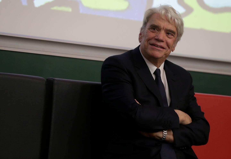 Bernard Tapie à la fac de médecine de Nice le 22 novembre 2018.