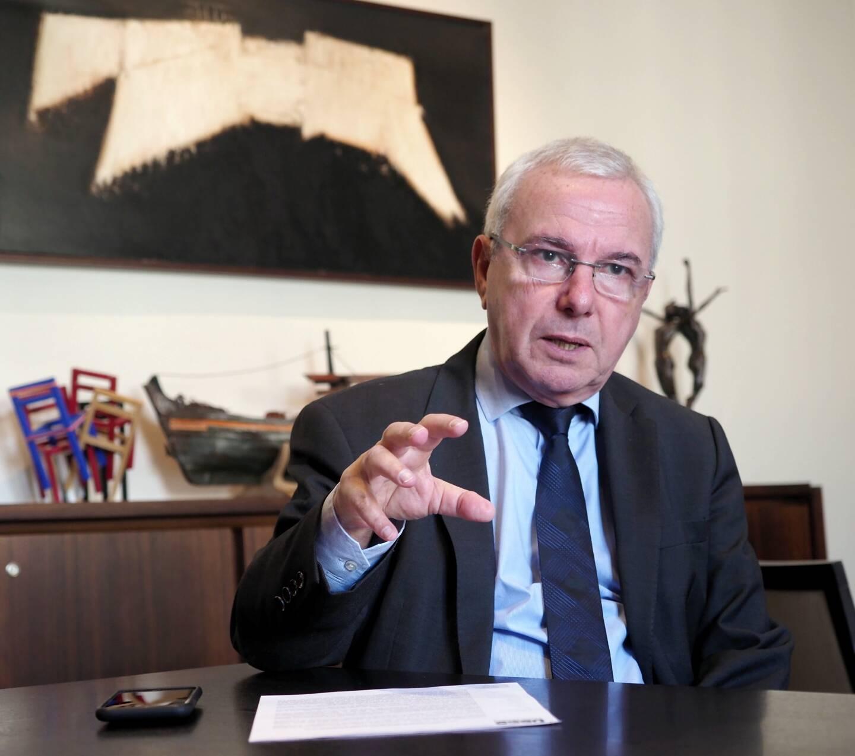 """Le maire d'Antibes Jean Leonetti estime que """"le vrai problème"""" liée à la propagation de la Covid-19 """"est sur la Métropole"""" Nice Côte d'Azur."""