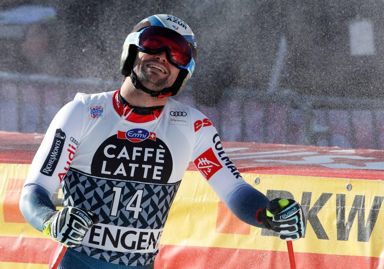 Matthieu Bailet, ici à Wengen en janvier 2020, a démontré que la descente de Bormio était sa préférée.