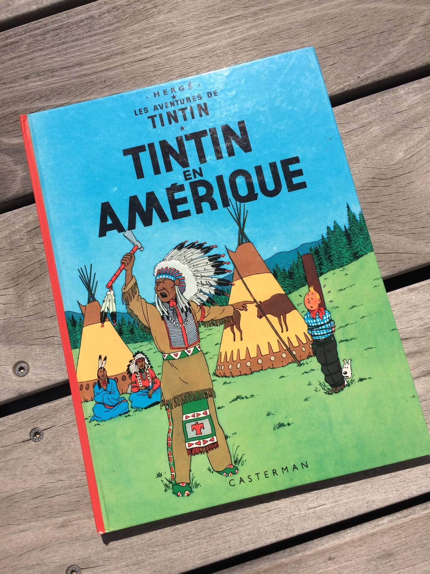 Tintin en Amérique a été retiré des écoles