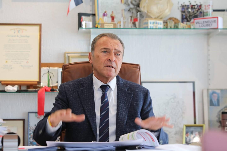 Lionnel Luca, maire de Villeneuve-Loubet.
