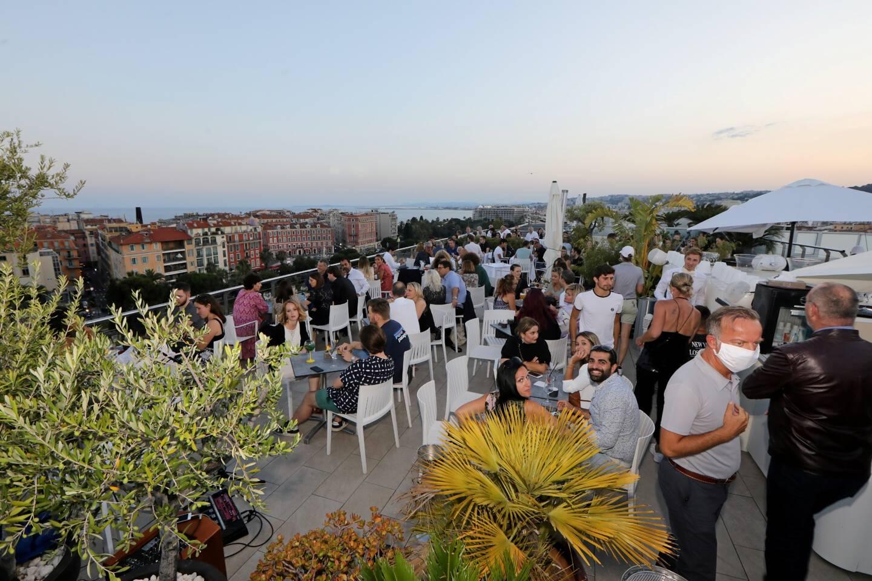 Rooftop de l'hotel Aston La Scala, en juin 2020.