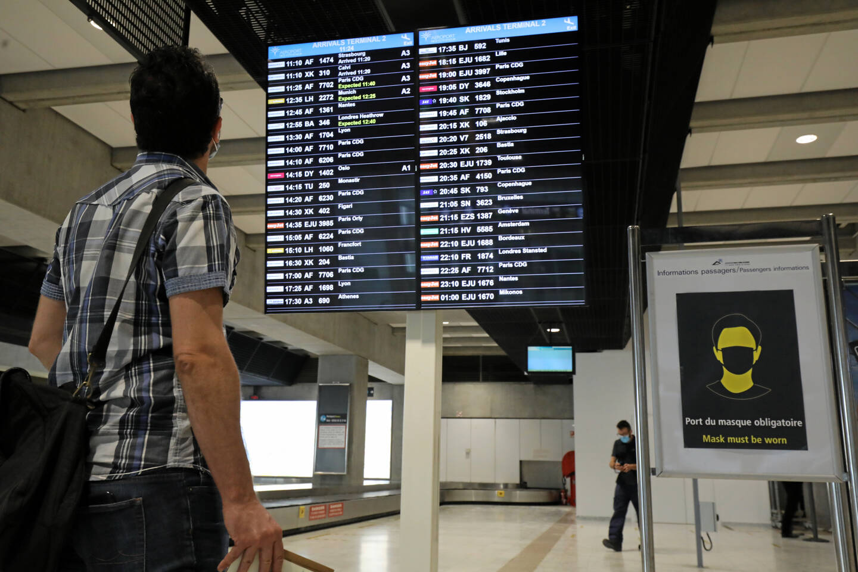 L'aéroport de Nice Côte d'Azur.