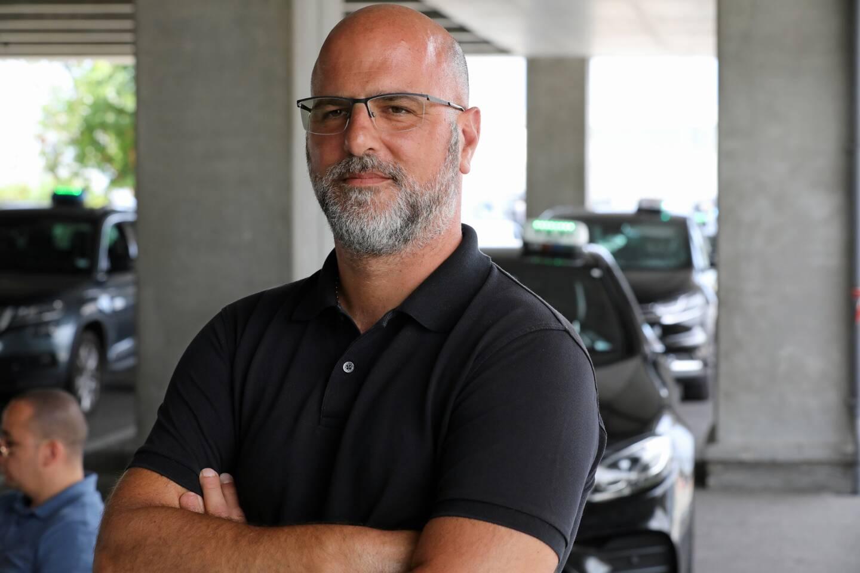 Fabrice Cavallera, président des taxis azuréens.
