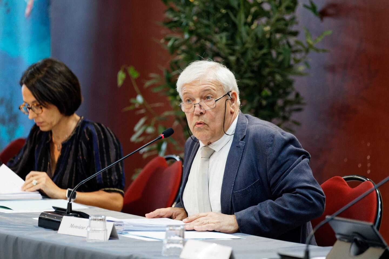 Le maire de Saint-Cyr, Philippe Barthelemy