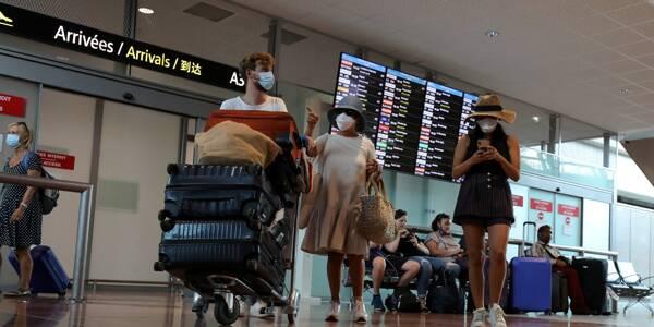 Au terminal 2 de l'aéroport Nice Côte d'Azur. Illustration.