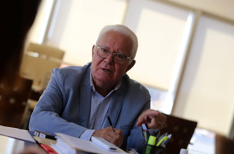 Jean-Pierre Giran, maire d'Hyères.