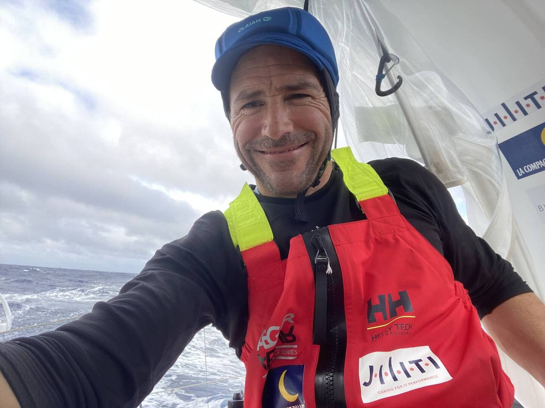 Le skippeur varois Clément Giraud.