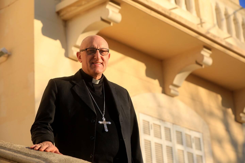 Monseigneur Rey, l'évêque du diocèse de Toulon/Fréjus.
