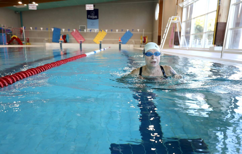 La piscine Maurice-Giuge, à Fréjus