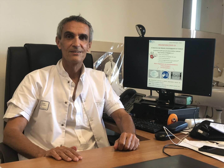Le professeur Michel Carles.
