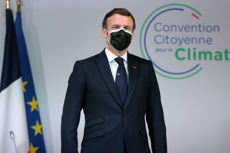 Emmanuel Macron, à la Convention Citoyenne pour le climat, le 14 décembre dernier