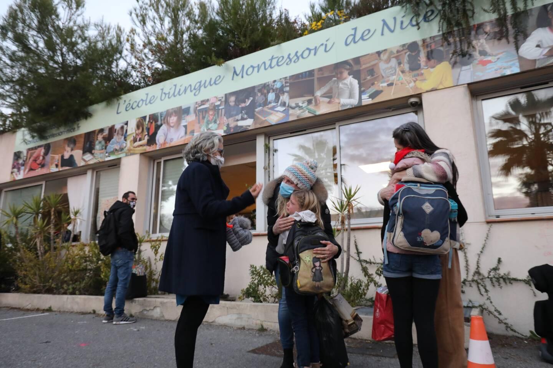 Vendredi, les enfants ne pensaient plus revenir dans leur école après les vacances. L'école Montessori de Nice a été officiellement liquidée.