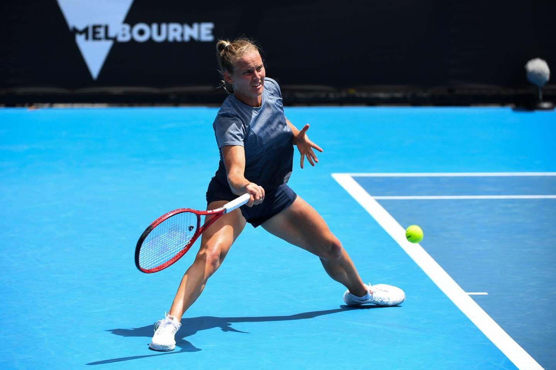 La Niçoise Fiona Ferro éliminée au 3e tour à l'Open d'Australie.