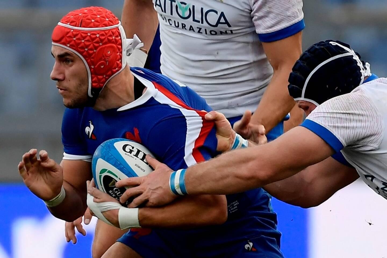 Régulièrement sélectionné au rugby à sept, l'ailier toulonnais Gabin Villière a été appelé à l'automne 2020 par Fabien Galthié en équipe de France à quinze.