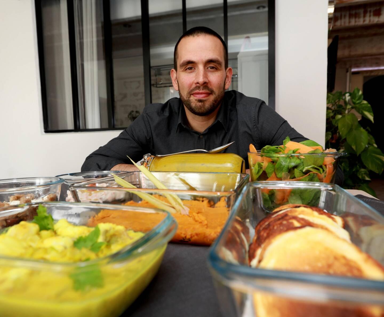 Le chef Jonathan Doudeau.