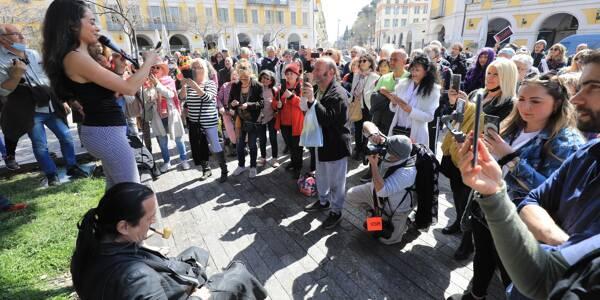 Francis Lalanne, ce dimanche 28 mars, à Nice