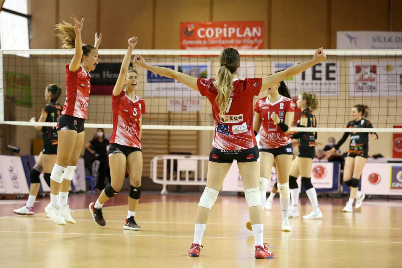 Les volleyeuses de Saint-Raphaël ont assuré leur maintien.