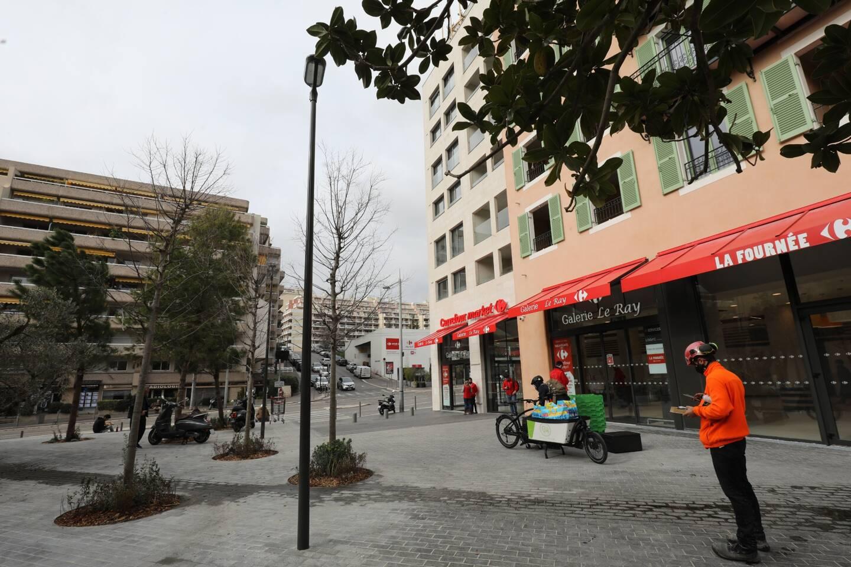 Le Carrefour Market Le Ray, à Nice.