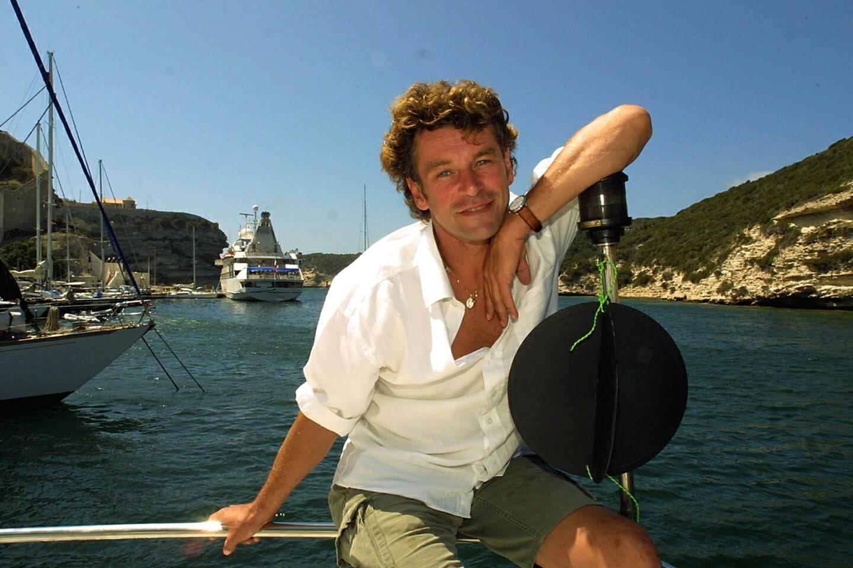 Patrick Dupond à Bonifacio en 2001.