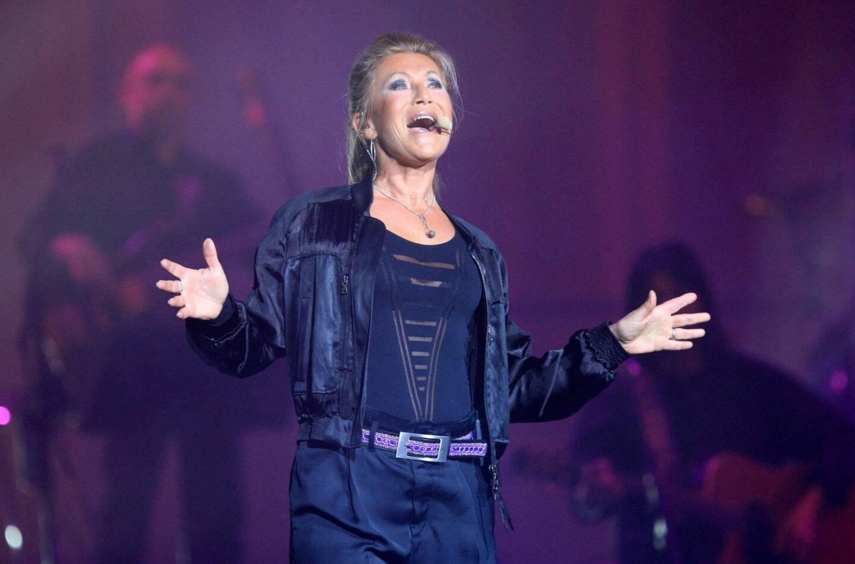 Sheila, lors d'une tournée dans le Var.