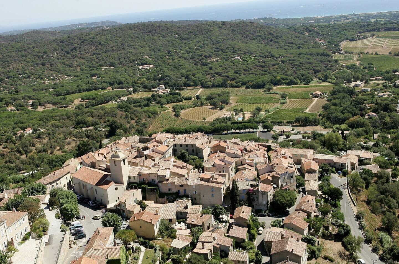 Vue aérienne de Ramatuelle.