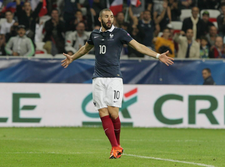 La dernière fois que Karim Benzema a porté le maillot de l'équipe de France, c'était lors de France-Arménie, à l'Allianz Riviera à Nice, en 2015.