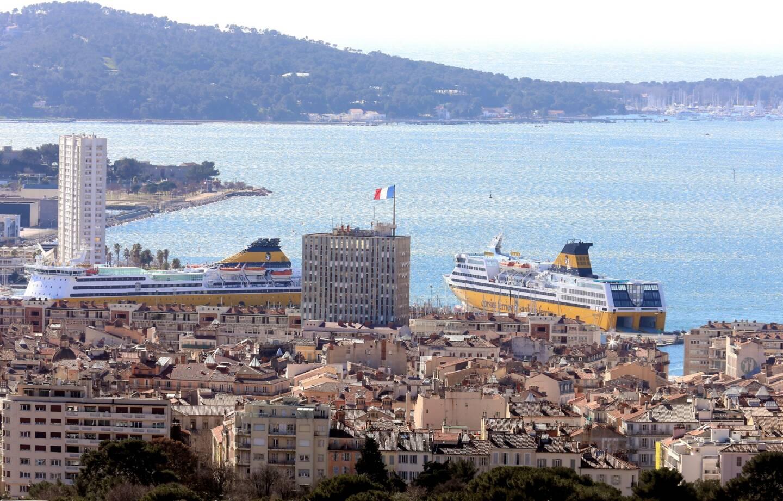 Vue de Toulon