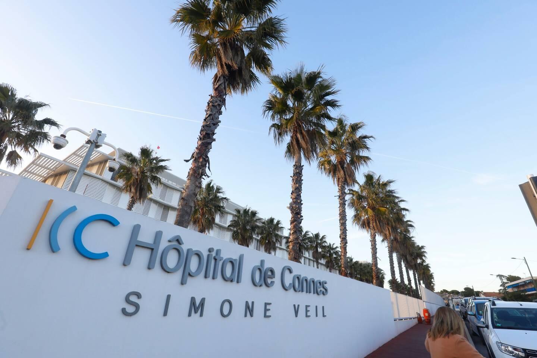 La patiente est partie de l'hôpital de Cannes ce matin.