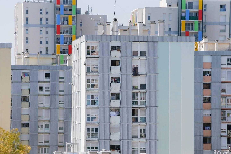 Une vue du quartier des Moulins à Nice