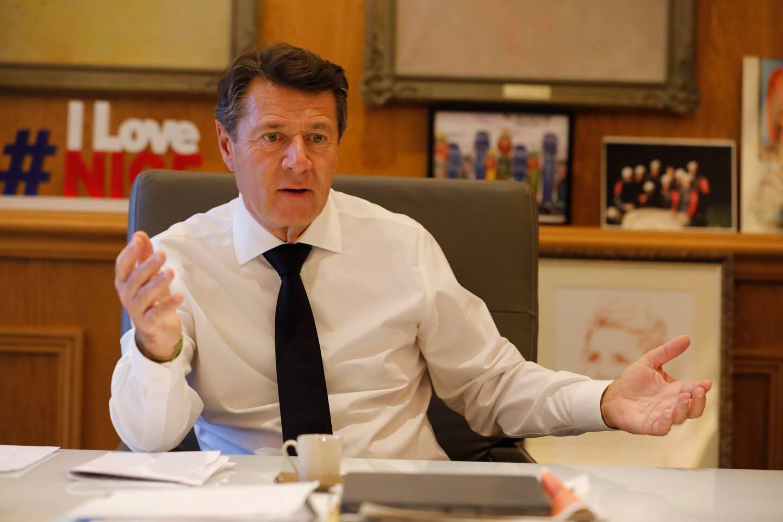Christian Estrosi, maire de Nice.