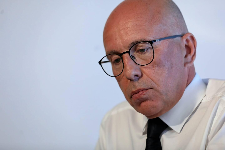 Eric Ciotti, ledéputé du parti Les Républicains de la 1re circonscription des Alpes-Maritimes.